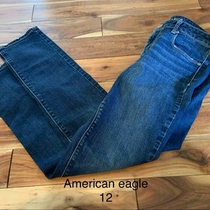 American eagle size 12 skinny stretch jeans 👖